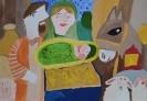 II место. Катрамасова Екатерина, 9 лет.Чудесное рождение Христа. ДЮЦ Элегия.г. Тольятти.Педагог Букаева Л.Н.