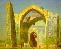 Чулович В.Н. Самарканд. Мечеть Биби-Ханым. 1972. Холст, масло. Ж-84, КП-88. 80х100_1