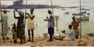 Сулименко П. С.  Утро Гвинеи. 1961. Холст, масло. 130х280. Ж-27, КП-27