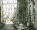 Белоусов П.П. Улица Мари-Роз в Париже, где жил В. И.  Ленин. 1969. Бумага, офорт. 50х60. Г-137, КП-288_1