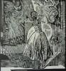 Зырянов А.П. Жизель.1985. Бумага, линогравюра, 46х43,5. Г-488, КП-842_1