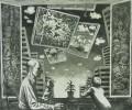 Щербак А.А. Воспоминания и мечты.1977. Бумага, офорт. 47,5х57,5. Г-3751, КП-6643_1