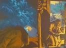 Григорьев В.Б. Сон. Вт.половина 20 в. Бумага, цв.линогравюра. 54х71. Г-471, КП-825_1