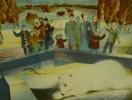 Лусегенов О.М. Белый. Серия Ростовский зоопарк.1983. Бумага, цв.автолитография. 40х52. Г-564, КП-918_1