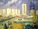 Пурыгин В. З. Новый город.1970.Холст,масло.99х130.Ж-173 КП-480