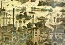 Вильнер В. С. Рабочая река.1974.Бумага, цветная автолитография.51,6х76,6.Г-313 КП-667
