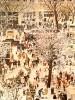 Вильнер В. С.В новом районе.1980.Бумага,цветная автолитография.69,5х51.Г-311 КП-665
