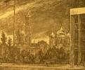 Вакидин В. Н. В Кремле. Бумага, линогравюра. 57,4х68,5. Г-146, КП-297