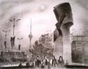 Ветрогонский В. А. На площади Ленина в Берлине.Бумага,литография.50х64,2.Г-378 КП-732