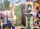 Вильнер В. С. Двор моего детства.Серия Годы и память.1980.бумага, цветная автолитография.54х73.Г-312 КП-666
