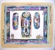 Биантовская О. А. Вечером в праздник.Серия Летний сад.Бумага,цветная литография.36х38.Г-4486 КП-8493