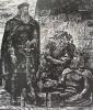 Склярук Б. Н. Король Лир у замка Глостера. Г-718 КП-1072. 1977