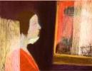 Минсафина Т.Н. Свет. 1997. Тонир. бумага, масл. пастель. 49,5х64. Г-2284 КП-8092