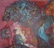 Власов В. Н. Завтрак на траве. Лист 1. 1988. Бумага, цветная литография. 59х67. Г-459 КП-813