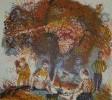 Власов В. Н. Завтрак на траве. Лист 2. 1988. Бумага, цветная литография. 60х64. Г-460 КП-814