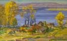 Бузин В. А. Бахилова поляна.1991.К.,м., 44х30. КП-7988, Ж-430