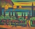 Клецель В. М. Ялта.1986.Х.,м.,67х80.КП-8476,Ж-607