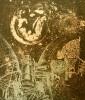 Вольгушев Е. И. Планета. Серия Заоблачная высь. 1976. Бумага, цв.литография. 51х44. Г-766 КП-631_1