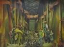 Ахальцев А.И. Строители моста.1980.Холст, масло.180х230.Ж-2 КП-2_1